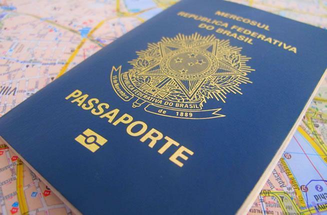 passaporte taxas